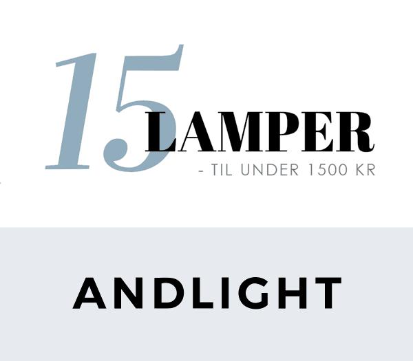 Bilde av 15 Lamper Under 1500 Kr