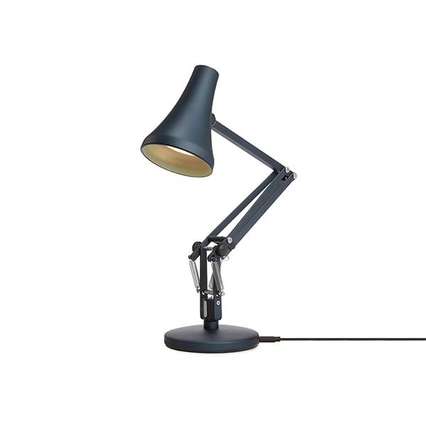 Bilde av Anglepoise 90 Mini Mini Bordlampe Steel Blue & Grey