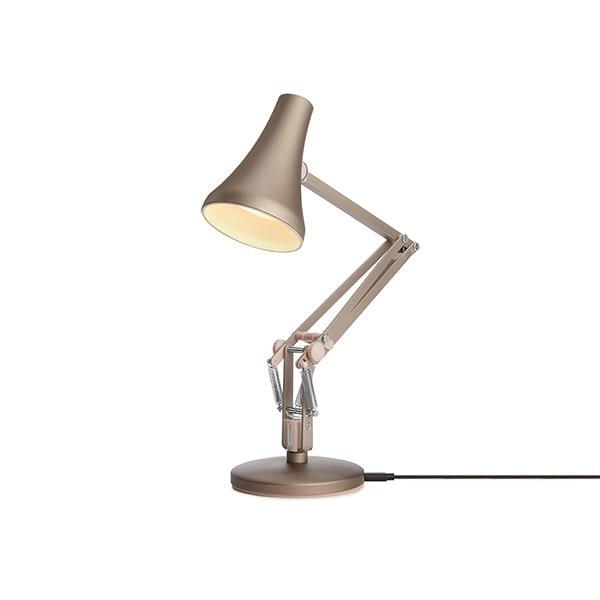 Bilde av Anglepoise 90 Mini Mini Bordlampe Warm Silver & Blush