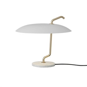 Astep Model 537 Bordlampe Hvit/Hvit