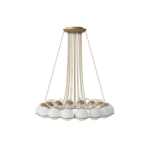 Astep Model 2109/16/14 Taklampe Champagne