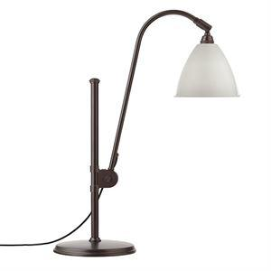 Bestlite BL1 Bordlampe Sort Messing & Hvit
