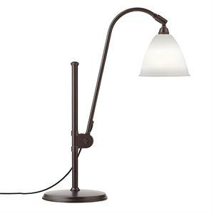 Bestlite BL1 Bordlampe Sort Messing & Porselen