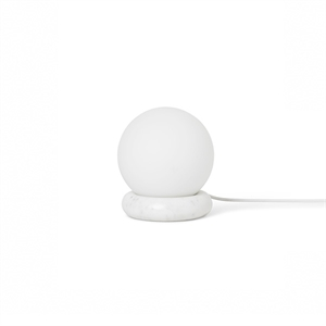Ferm Living Rest Bordlampe Hvit Marmor