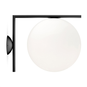Flos Vegglampe IC C/W2 Matt Sort
