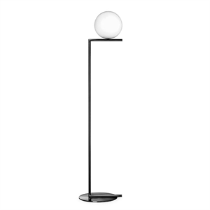 Flos IC F1 Gulvlampe Matt Sort