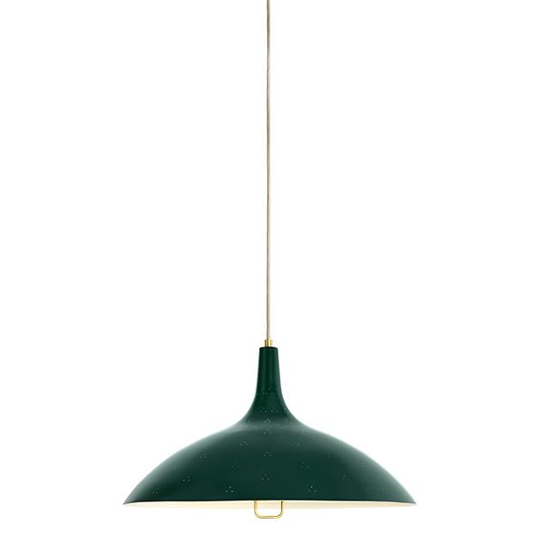 Gubi Tynell Collection 1965 Taklampe Grønn