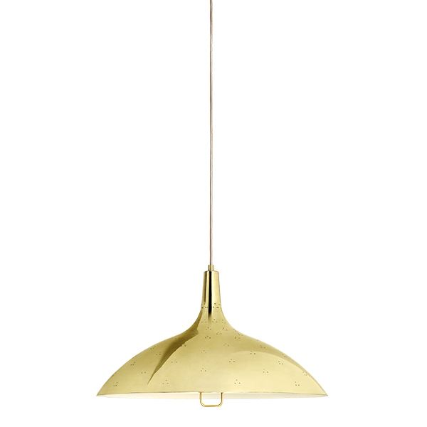 Gubi Tynell Collection 1965 Taklampe Messing