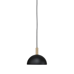 Handvärk Studio Taklampe Ø25 Sort & Messing