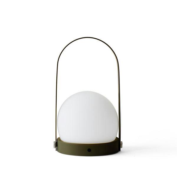 Carrie LED Bordlampe Olive Menu