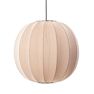 Made By Hand Knit-Wit Round Taklampe Sand Stone Ø60