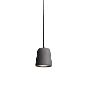 NEW WORKS Material Taklampe Concrete Dark Grey