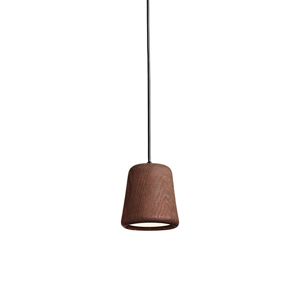 NEW WORKS Material Taklampe Smoked Oak