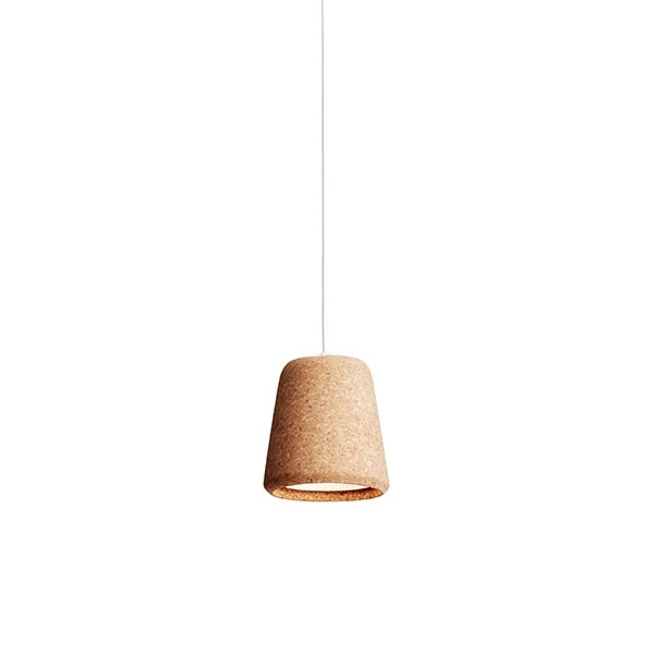 NEW WORKS Material Taklampe Natural Cork