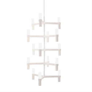 Nemo Crown Multi Taklampe Hvit