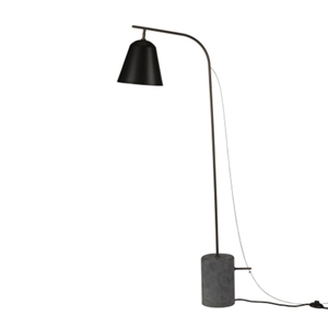 NORR11 Line One  Gulvlampe Sort