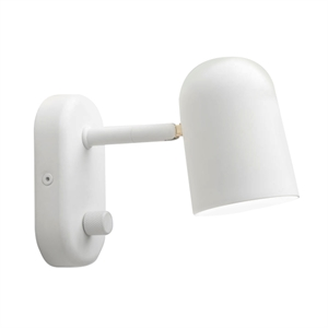 Northern Buddy Vegglampe Off-White