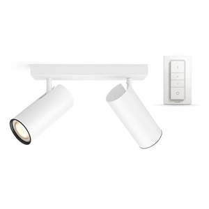 Philips Hue Connected Buratto 2-Spot i Hvit