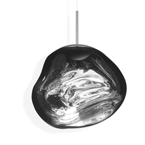 Tom Dixon Melt Taklampe LED Chrome Stor