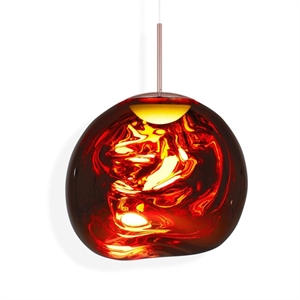 Tom Dixon Melt Taklampe LED Kobber Stor