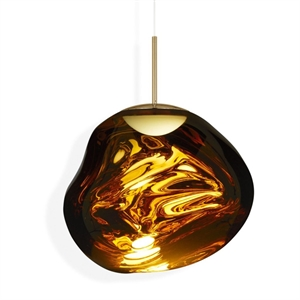 Tom Dixon Melt Taklampe LED Gull Stor