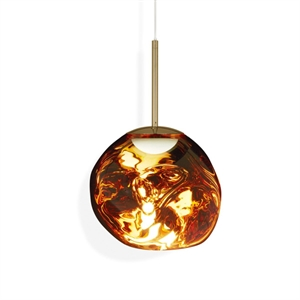 Tom Dixon Melt Taklampe LED Gull Liten