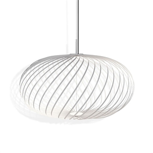 Tom Dixon Spring Medium Taklampe Hvit