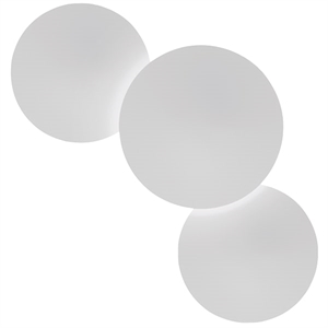 Vibia Puck Three Taklampe Hvit