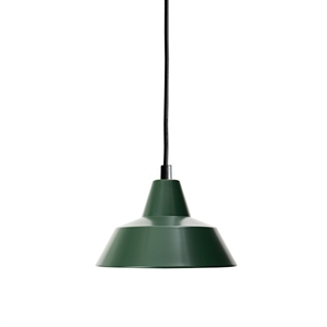 Made By Hand Verkstedslampe Taklampe Racing Green W1
