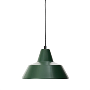 Made By Hand Verkstedslampe Taklampe Racing Green W2