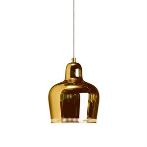 artek Golden Bell A330S Taklampe Messing