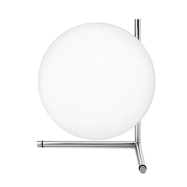 Flos IC T2 Bordlampe Krom