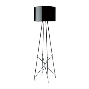 Flos Ray F1 Gulvlampe Sort