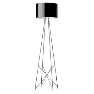Flos Ray F2 Gulvlampe Sort