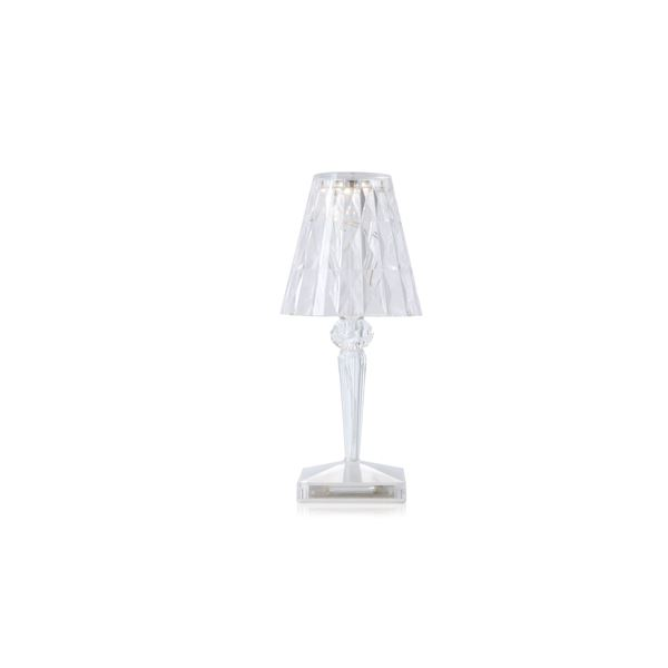 kartell battery bordlampe krystall. Black Bedroom Furniture Sets. Home Design Ideas