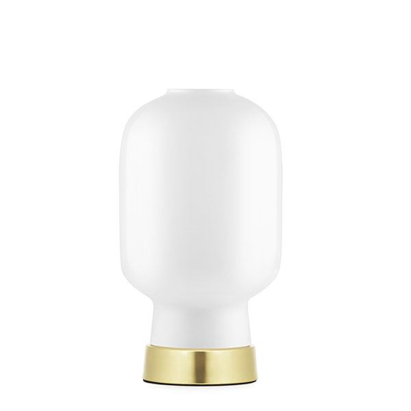 Normann Copenhagen Amp Bordlampe Hvit/Messing