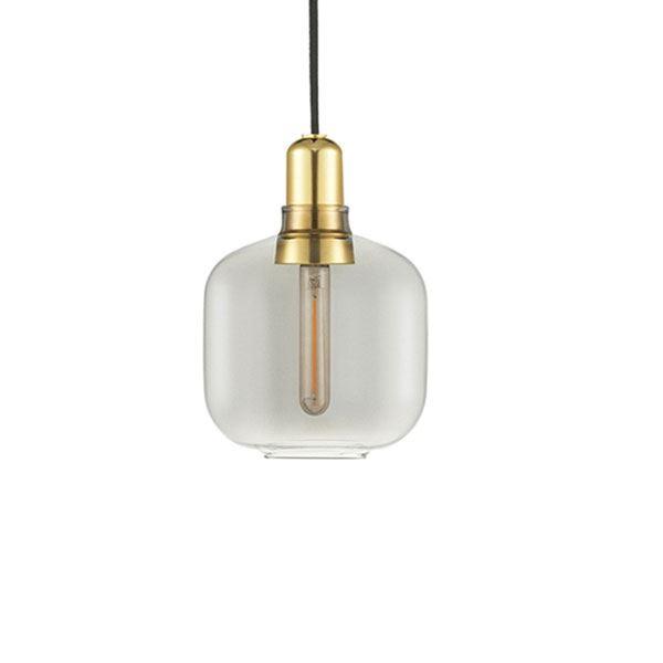 Normann Copenhagen Amp Taklampe Liten RøykfargetMessing