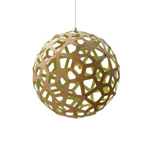 David Trubridge Coral Lime Taklampe