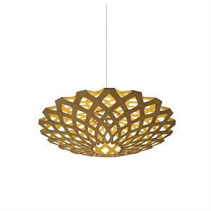 David Trubridge Flax Gul Taklampe