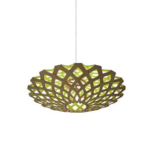 David Trubridge Flax Lime Taklampe