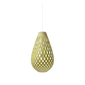 David Trubridge Koura Lime Taklampe