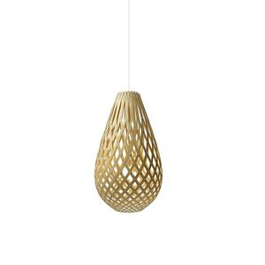David Trubridge Koura Natural Taklampe