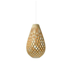 David Trubridge Koura Orange Taklampe
