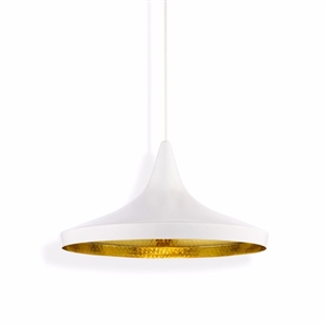 Tom Dixon Beat Taklampe Wide Hvit