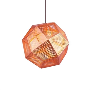 Tom Dixon Etch Copper Taklampe