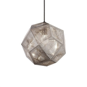 Tom Dixon Etch Stainless Steel Taklampe