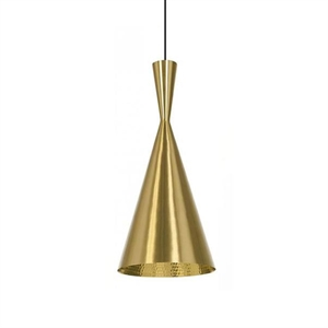 Tom Dixon Beat Taklampe Tall Messing
